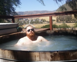 Jon Neralich hot tub